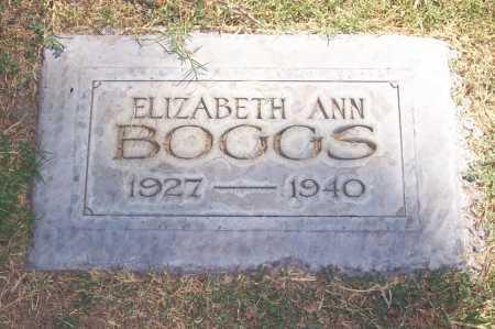 BOGGS, ELIZABETH ANN - Maricopa County, Arizona | ELIZABETH ANN BOGGS - Arizona Gravestone Photos
