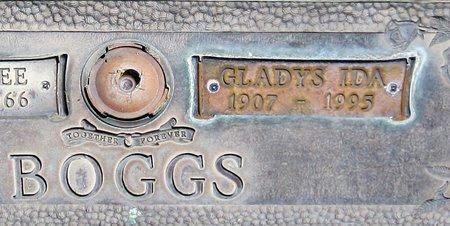 BOGGS, GLADYS IDA - Maricopa County, Arizona   GLADYS IDA BOGGS - Arizona Gravestone Photos