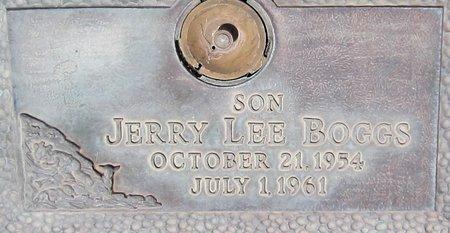 BOGGS, JERRY LEE - Maricopa County, Arizona | JERRY LEE BOGGS - Arizona Gravestone Photos