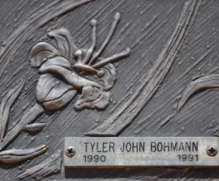 BOHMANN, TYLER JOHN - Maricopa County, Arizona   TYLER JOHN BOHMANN - Arizona Gravestone Photos