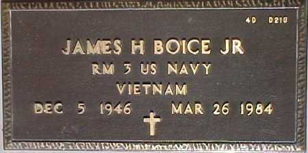 BOICE, JAMES H., JR. - Maricopa County, Arizona | JAMES H., JR. BOICE - Arizona Gravestone Photos