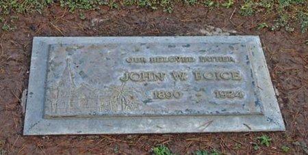 BOICE, JOHN WALDRON - Maricopa County, Arizona   JOHN WALDRON BOICE - Arizona Gravestone Photos
