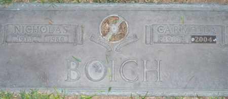 BOICH, CARMELLA - Maricopa County, Arizona | CARMELLA BOICH - Arizona Gravestone Photos