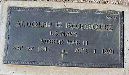 BOJORQUEZ, ALDOLPH G. - Maricopa County, Arizona | ALDOLPH G. BOJORQUEZ - Arizona Gravestone Photos