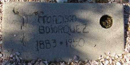 BOJORQUEZ, FRANCISCO - Maricopa County, Arizona | FRANCISCO BOJORQUEZ - Arizona Gravestone Photos
