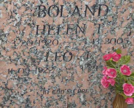BOLAND, HELEN T. - Maricopa County, Arizona | HELEN T. BOLAND - Arizona Gravestone Photos
