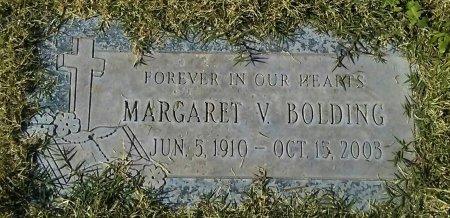 BOLDING, MARGARET V. - Maricopa County, Arizona | MARGARET V. BOLDING - Arizona Gravestone Photos