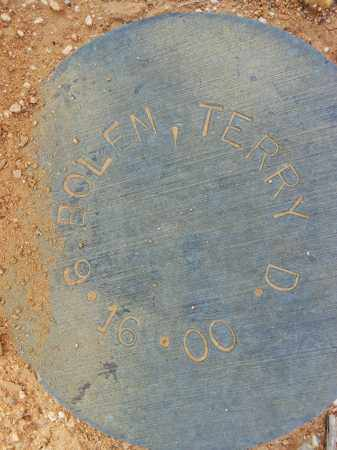 BOLEN, TERRY D. - Maricopa County, Arizona   TERRY D. BOLEN - Arizona Gravestone Photos