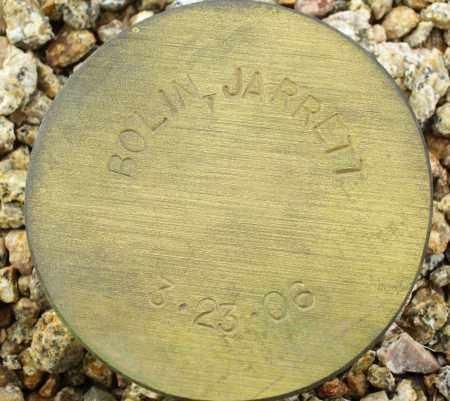 BOLIN, JARRETT - Maricopa County, Arizona | JARRETT BOLIN - Arizona Gravestone Photos