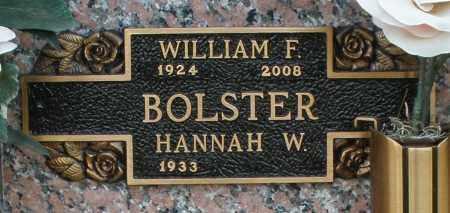 BOLSTER, WILLIAM F. - Maricopa County, Arizona | WILLIAM F. BOLSTER - Arizona Gravestone Photos
