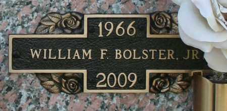 BOLSTER, WILLIAM F. JR - Maricopa County, Arizona   WILLIAM F. JR BOLSTER - Arizona Gravestone Photos