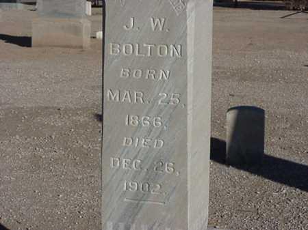 BOLTON, JOHN W - Maricopa County, Arizona   JOHN W BOLTON - Arizona Gravestone Photos