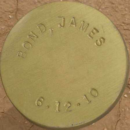 BOND, JAMES - Maricopa County, Arizona   JAMES BOND - Arizona Gravestone Photos
