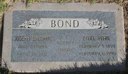 ALLEN BOND, ETHEL PEARL - Maricopa County, Arizona | ETHEL PEARL ALLEN BOND - Arizona Gravestone Photos