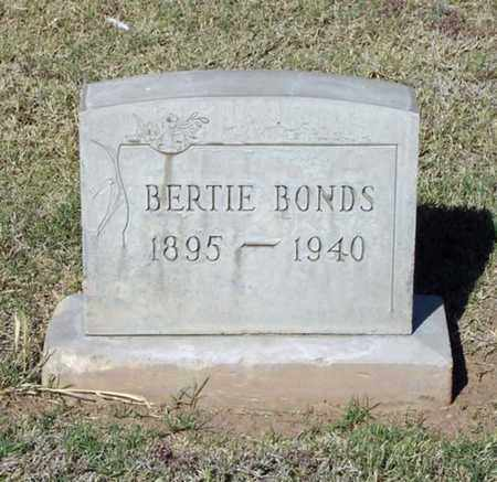 BONDS, BERTIE - Maricopa County, Arizona | BERTIE BONDS - Arizona Gravestone Photos