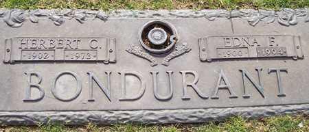 BONDURANT, EDNA F. - Maricopa County, Arizona | EDNA F. BONDURANT - Arizona Gravestone Photos