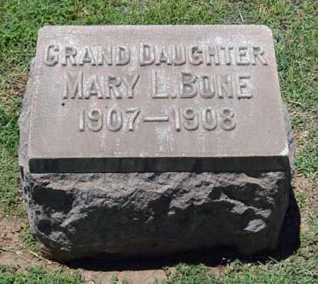 BONE, MARY LOUISE - Maricopa County, Arizona | MARY LOUISE BONE - Arizona Gravestone Photos