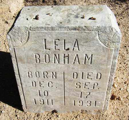 BONHAM, LELA - Maricopa County, Arizona | LELA BONHAM - Arizona Gravestone Photos