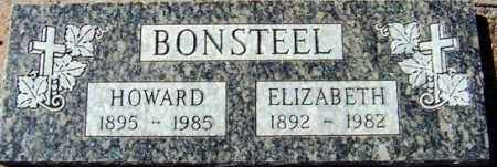 BONSTEEL, HOWARD - Maricopa County, Arizona | HOWARD BONSTEEL - Arizona Gravestone Photos