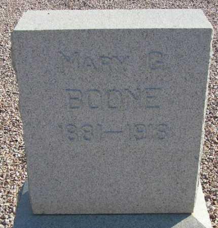 BOONE, MARY G. - Maricopa County, Arizona | MARY G. BOONE - Arizona Gravestone Photos