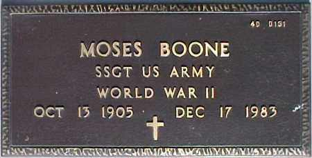 BOONE, MOSES - Maricopa County, Arizona | MOSES BOONE - Arizona Gravestone Photos