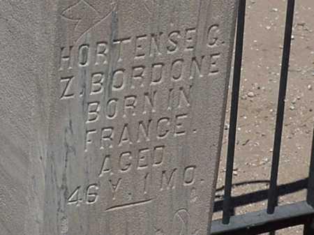 BORDONE, HORTENSE G Z - Maricopa County, Arizona | HORTENSE G Z BORDONE - Arizona Gravestone Photos