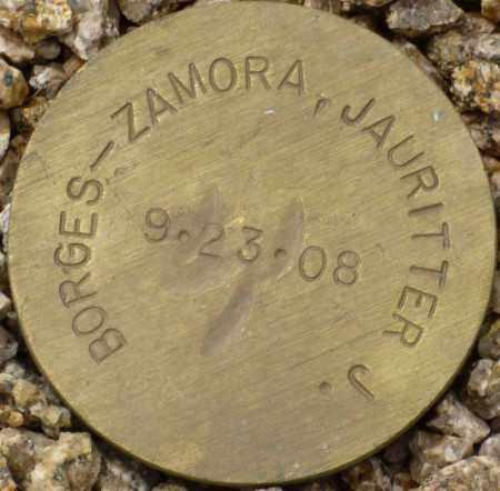 BORGES-ZAMORA, JAURITTER J. - Maricopa County, Arizona | JAURITTER J. BORGES-ZAMORA - Arizona Gravestone Photos