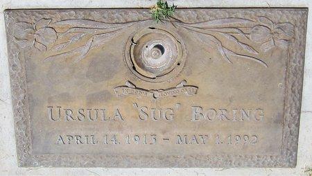 BORING, URSULA - Maricopa County, Arizona | URSULA BORING - Arizona Gravestone Photos