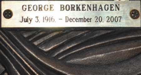 BORKENHAGEN, GEORGE - Maricopa County, Arizona | GEORGE BORKENHAGEN - Arizona Gravestone Photos