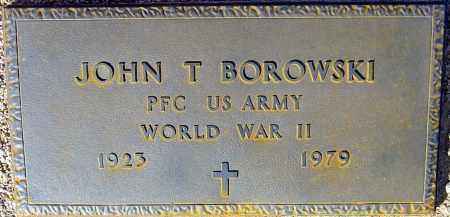 BOROWSKI, JOHN T. - Maricopa County, Arizona | JOHN T. BOROWSKI - Arizona Gravestone Photos