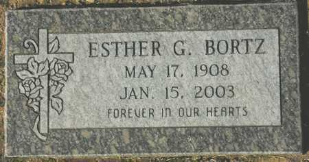 BORTZ, ESTHER G. - Maricopa County, Arizona | ESTHER G. BORTZ - Arizona Gravestone Photos