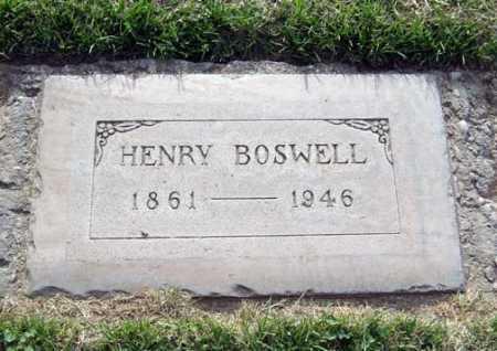 BOSWELL, HENRY - Maricopa County, Arizona | HENRY BOSWELL - Arizona Gravestone Photos