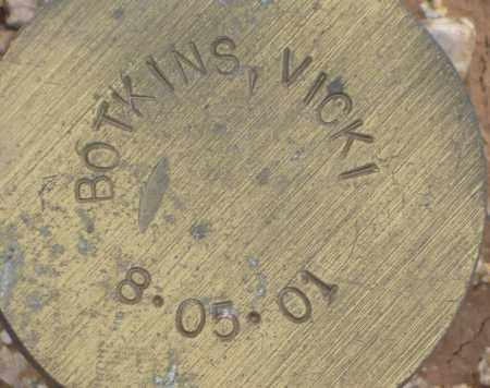 BOTKINS, VICKI - Maricopa County, Arizona   VICKI BOTKINS - Arizona Gravestone Photos