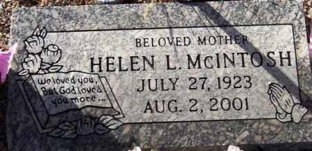 BOUGHNER - MCINTOSH, HELEN LOUISE - Maricopa County, Arizona | HELEN LOUISE BOUGHNER - MCINTOSH - Arizona Gravestone Photos