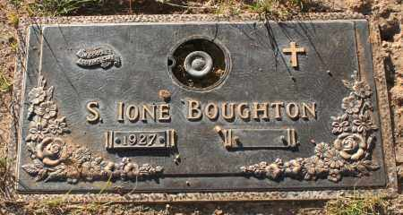 BOUGHTON, S. IONE - Maricopa County, Arizona | S. IONE BOUGHTON - Arizona Gravestone Photos