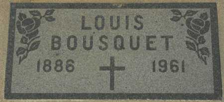 BOUSQUET, LOUIS - Maricopa County, Arizona | LOUIS BOUSQUET - Arizona Gravestone Photos