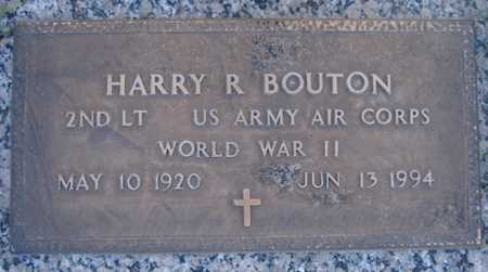 BOUTON, HARRY R - Maricopa County, Arizona | HARRY R BOUTON - Arizona Gravestone Photos