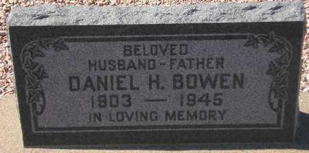 BOWEN, DANIEL H. - Maricopa County, Arizona   DANIEL H. BOWEN - Arizona Gravestone Photos