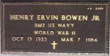 BOWEN, HENRY ERVIN, JR. - Maricopa County, Arizona | HENRY ERVIN, JR. BOWEN - Arizona Gravestone Photos