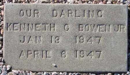 BOWEN, KENNETH G. - Maricopa County, Arizona | KENNETH G. BOWEN - Arizona Gravestone Photos