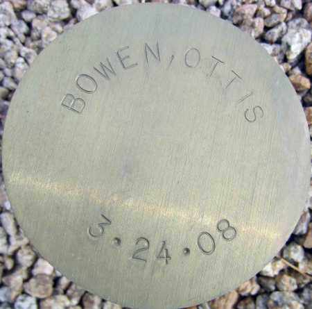BOWEN, OTTIS - Maricopa County, Arizona | OTTIS BOWEN - Arizona Gravestone Photos
