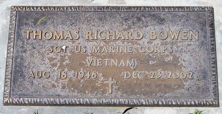 BOWEN, THOMAS RICHARD - Maricopa County, Arizona | THOMAS RICHARD BOWEN - Arizona Gravestone Photos