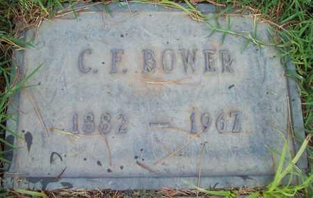 BOWER, C. F. - Maricopa County, Arizona | C. F. BOWER - Arizona Gravestone Photos