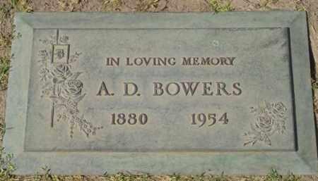 BOWERS, A.D. - Maricopa County, Arizona | A.D. BOWERS - Arizona Gravestone Photos