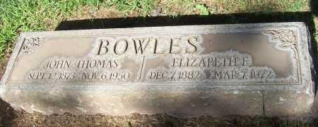 BOWLES, ELIZABETH E. - Maricopa County, Arizona | ELIZABETH E. BOWLES - Arizona Gravestone Photos