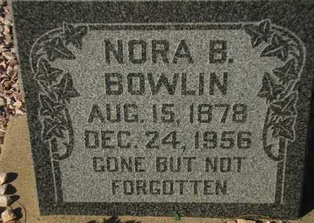 BOWLIN, NORA B. - Maricopa County, Arizona | NORA B. BOWLIN - Arizona Gravestone Photos