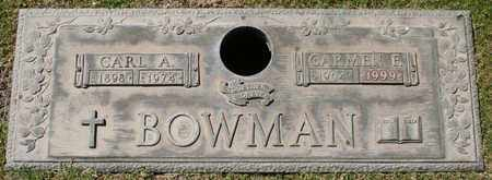 BOWMAN, CARL A - Maricopa County, Arizona | CARL A BOWMAN - Arizona Gravestone Photos
