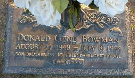 BOWMAN, DONALD GENE - Maricopa County, Arizona | DONALD GENE BOWMAN - Arizona Gravestone Photos