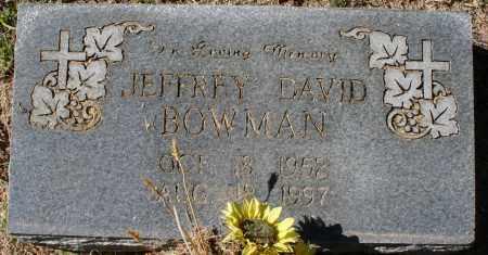 BOWMAN, JEFFREY DAVID - Maricopa County, Arizona | JEFFREY DAVID BOWMAN - Arizona Gravestone Photos