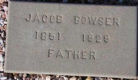 BOWSER, JACOB - Maricopa County, Arizona   JACOB BOWSER - Arizona Gravestone Photos